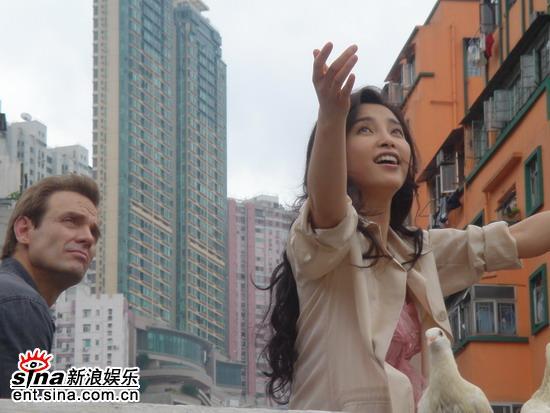 11月《猛龙》过江迈克宾与李冰冰放信鸽玩浪漫