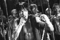 《霍元甲》春节上映李连杰被泰国拳王打伤(图)