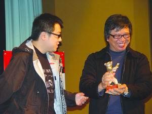 彭浩翔持银熊亮相北京《伊莎贝拉》4月6日上映