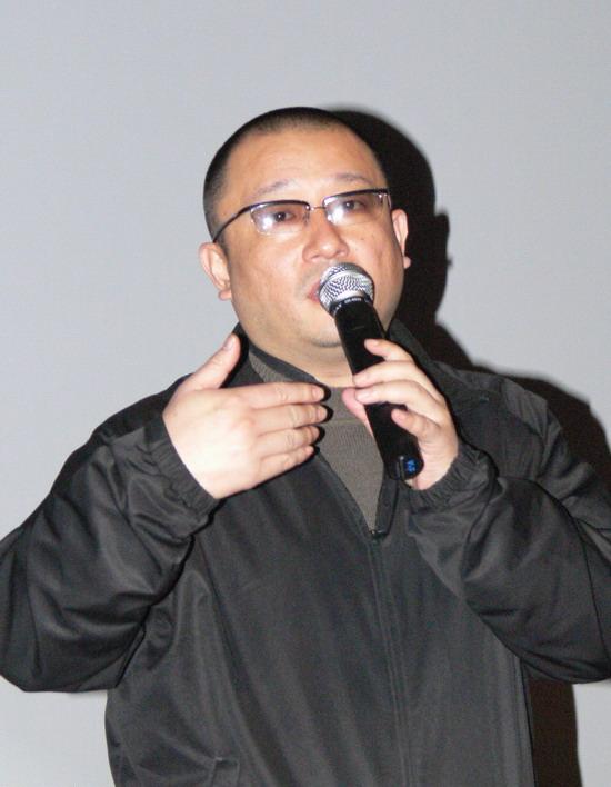 大学生电影节展映《青红》王小帅出席见面会