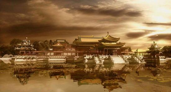 大型文化史诗电影《圆明园》将举行看片会(图)