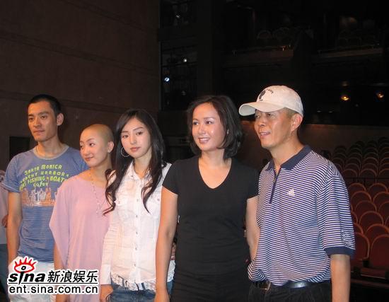 《立春》亲密三人组将在上海为威尼斯练兵(图)