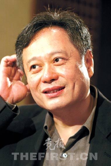 李安沪上谈电影称上海电影节不像奥斯卡(图)
