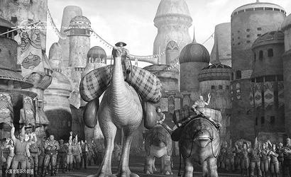 魔比斯环 面临票房考验首创国产三维动画片