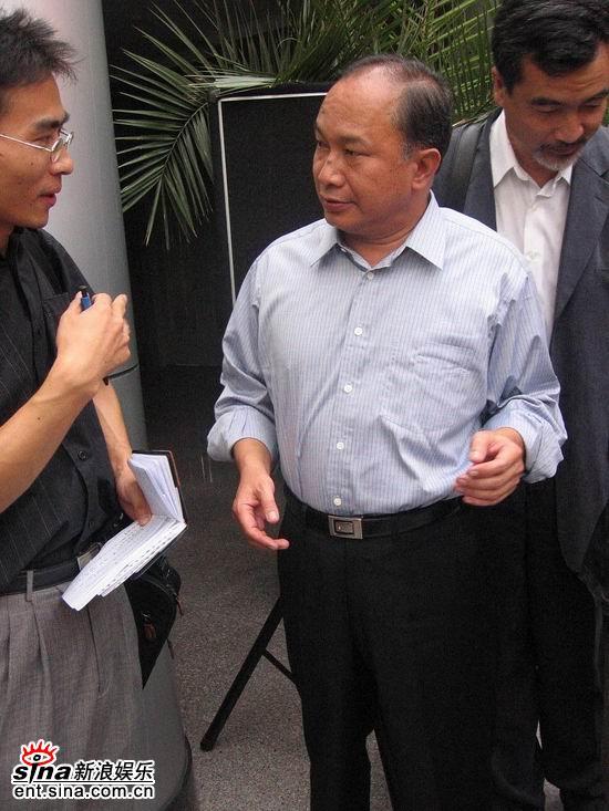 《赤壁》在京签约吴宇森谈心中的三国(组图)