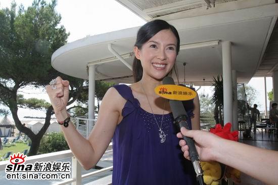 独家专访章子怡:婉后是个爱恨交织的角色(图)