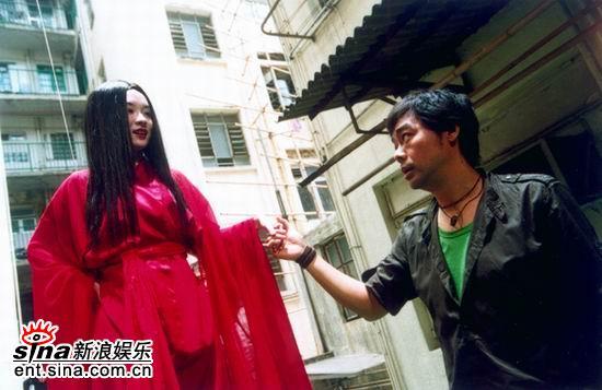 霍思燕《我要成名》里演女鬼悬吊高空数十米