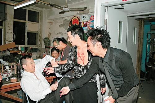 张家辉自荐拍《放逐》前传7个男人斗出火(图)