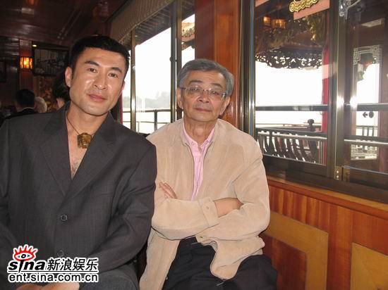肖荣生百花节和吴贻弓叙旧欲重返大银幕(附图)