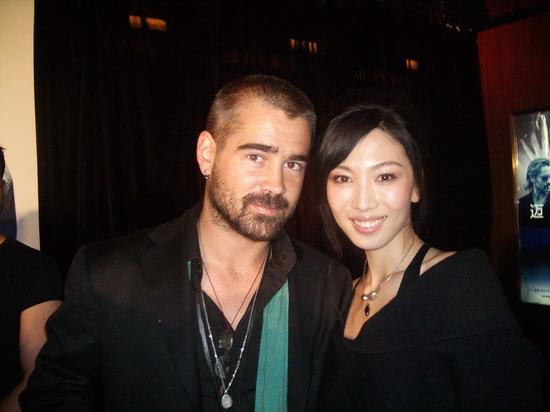 徐菁遥出席《迈阿密》首映与法瑞尔一见如故