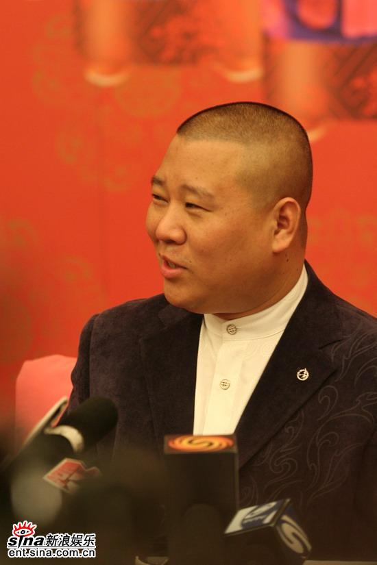 《落叶》主演专访郭德纲:我是逼上梁山的贼