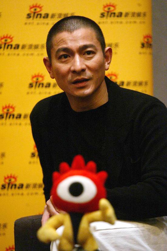 独家专访刘德华:你可以不再说我演技很好(图)