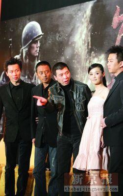 冯小刚吹响贺岁《集结号》锁定12月20日上映