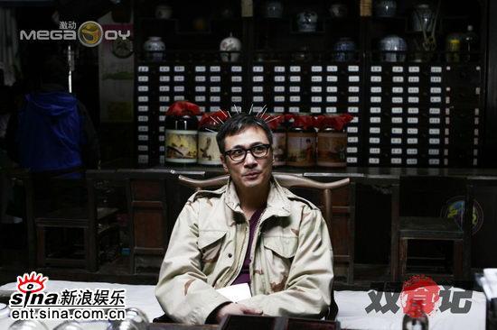 """《双食记》热拍吴镇宇身中""""暴雨梨花针""""(图)"""