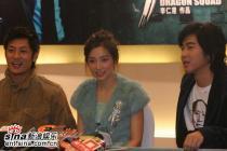 组图:吴建豪余文乐等出席《猛龙》北京首映式