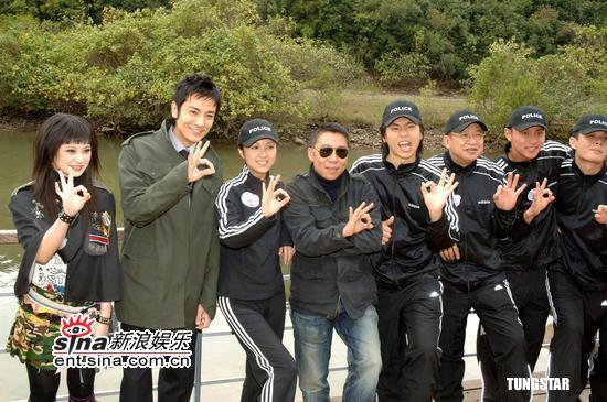 组图:薛凯琪铃木仁等拍新片《新扎师妹3》探班