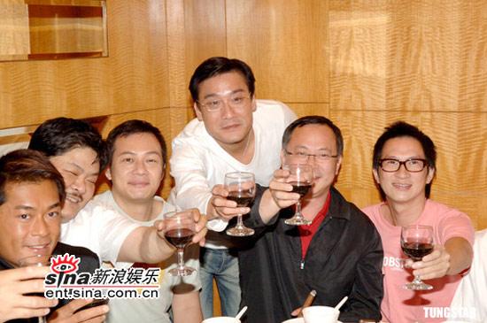组图:杜琪峰梁家辉等出席《龙城岁月》庆功宴