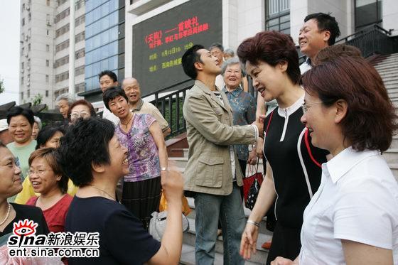 组图:《天狗》在沪热映上海观众听山西方言