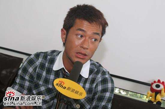 专访《宝贝计划》古天乐向到北京学表演(组图)