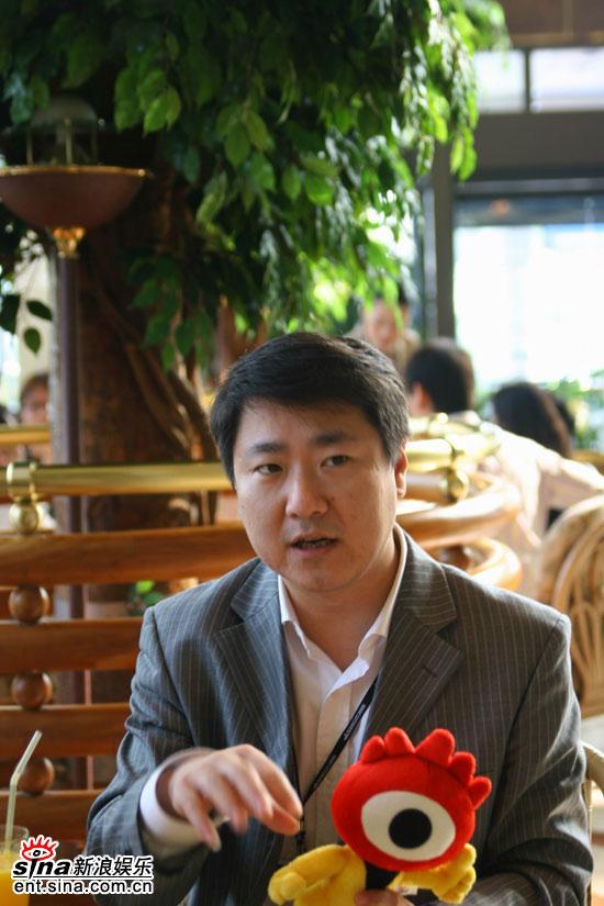 新浪娱乐釜山独家专访保利博纳CEO于冬(组图)