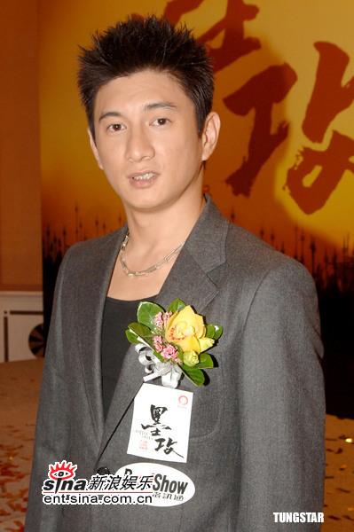 组图:《墨攻》香港宣传吴奇隆随时可能结婚