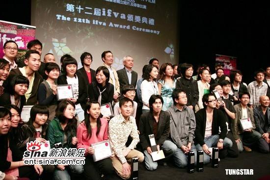 组图:《父子》导演谭家明出席ifva颁奖典礼