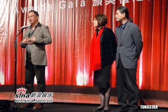 组图:国际电影节颁奖之夜举行杜琪峰应邀出席