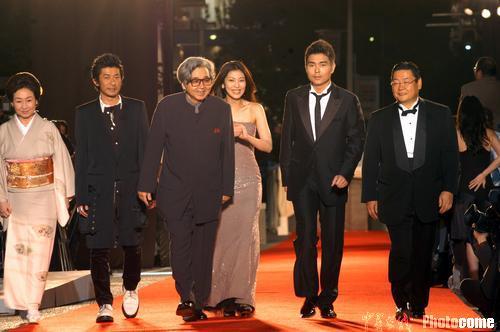 图文:17届东京电影节开幕中国电影集体出击(1)