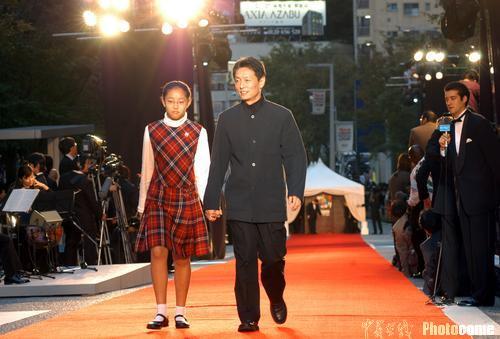 图文:17届东京电影节开幕中国电影集体出击(2)