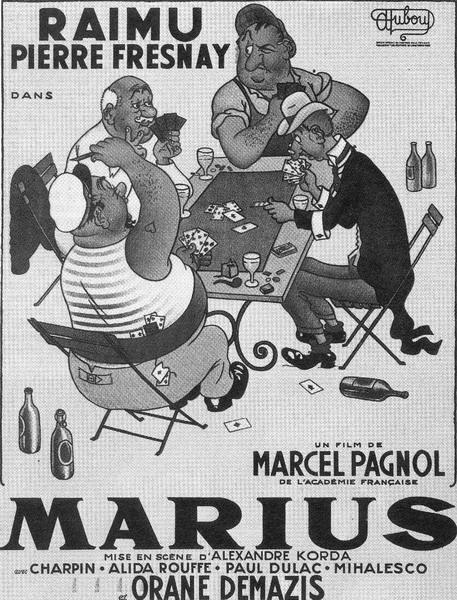法国电影回顾展参展影片:《马里乌斯》