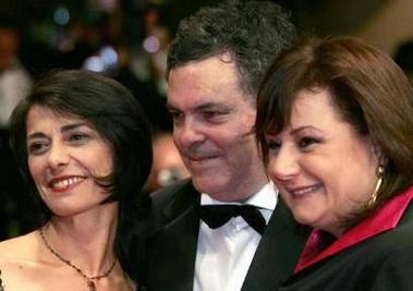 组图:《自由地带》戛纳首映女主角娜塔丽缺席