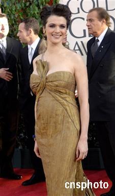 金球最佳女配角蕾切尔-威兹将拍王家卫新片(图)