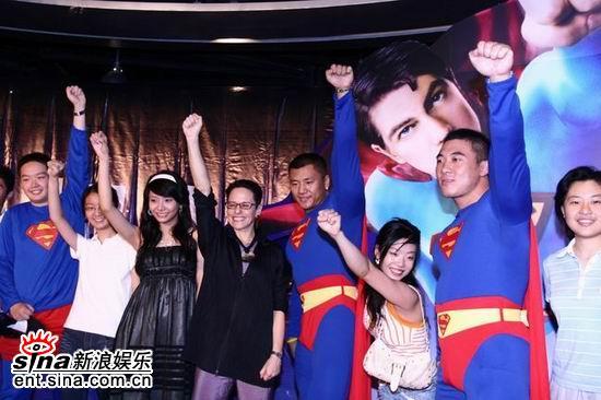 组图:《超人归来》北京首映奥运冠军到场助阵
