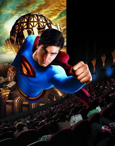 华星IMAX巨幕再迎《超人归来》三天票房60万