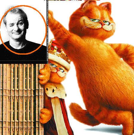 《加菲猫2》双倍搞笑登场满嘴尽带时髦语(图)