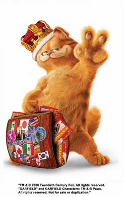 """加菲猫混到26岁才上大银幕28岁有了""""双胞胎"""""""