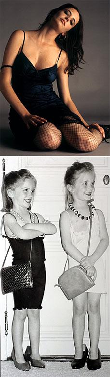 新邦德女郎伊娃有个性格迥异的双胞胎妹妹(图)