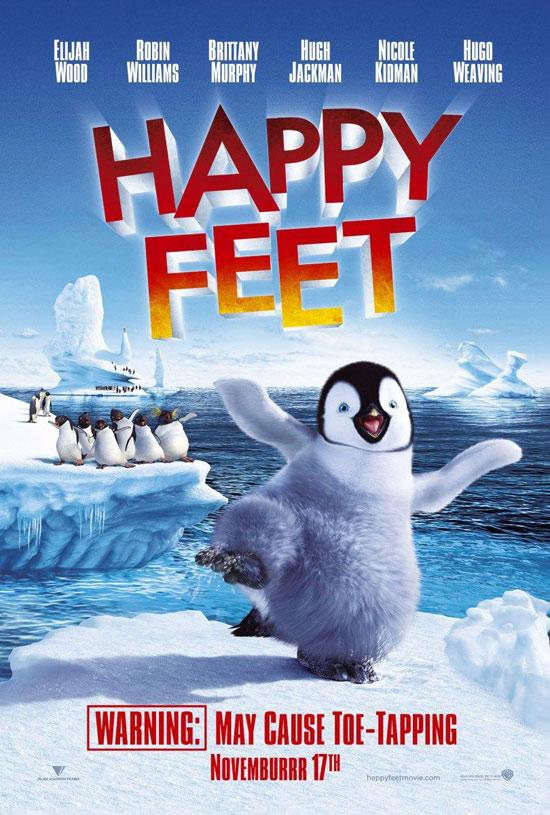 """《快乐大脚》票房第一小企鹅如何干掉""""007"""""""