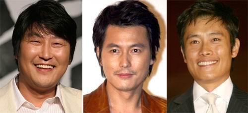 宋康浩李秉宪郑宇成携手出演新片《三个家伙》