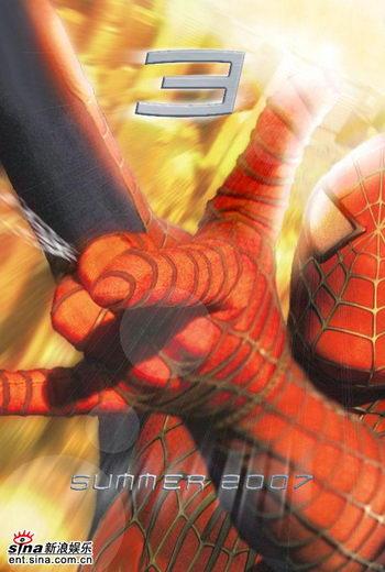 《蜘蛛侠3》五一内地上映拷贝量破分帐片纪录