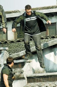 《碟中谍3》浙江拍摄汤姆和善保镖凶悍(组图)