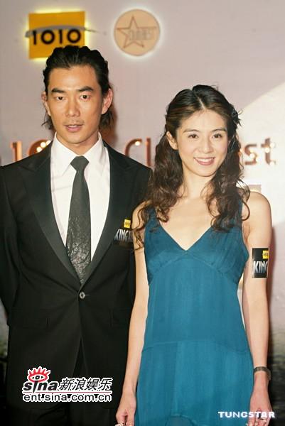 组图:杨采妮任贤齐出席《金刚》香港首映酒会