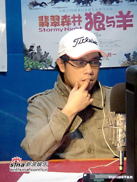 组图:蔡康永玩配音化身日本动画角色羊咩咩