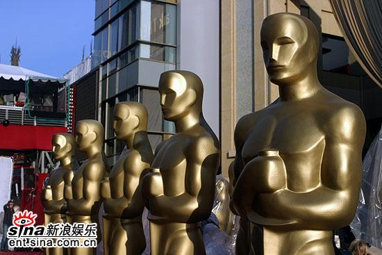 组图:奥斯卡颁奖典礼准备就绪现场庄严有序