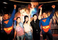 《超人归来》北京首映影迷接纳新超人(组图)