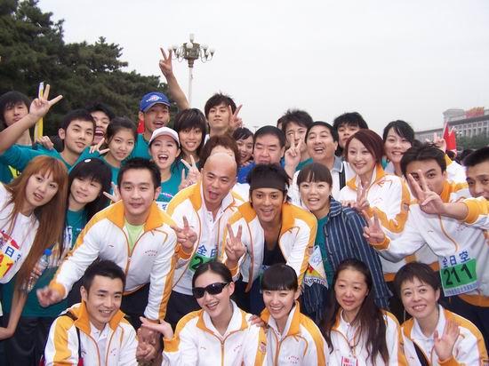 莫少聪再度带队东方国际学员马拉松精神继续