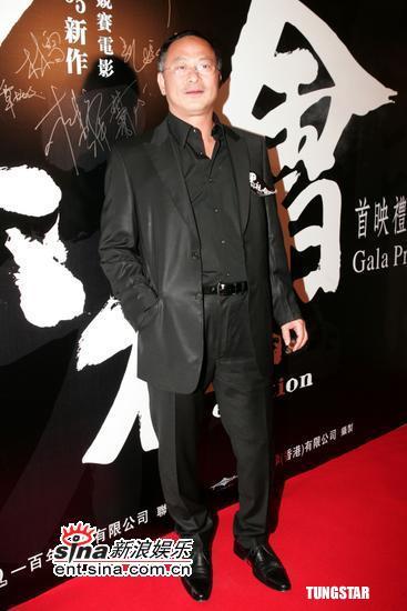 图文:《龙城岁月》首映-导演杜琪峰