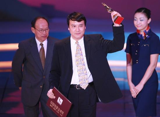 图文:金鸡百花电影节颁奖典礼-获奖者春风满面