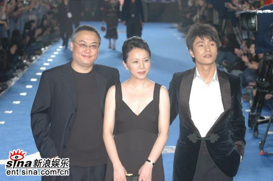 图文:第42届台湾电影金马奖红地毯--陈坤到场