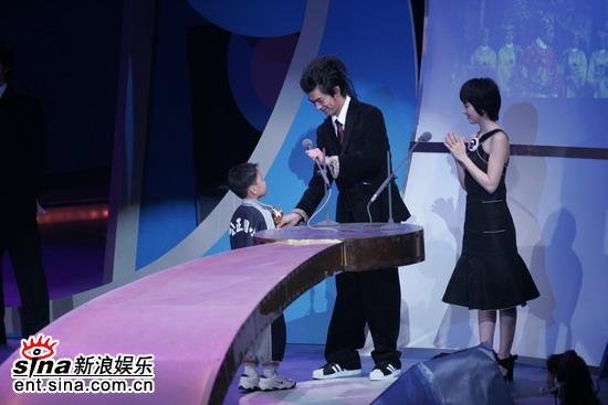 图文:第42届台湾电影金马奖颁奖典礼-小小嘉宾